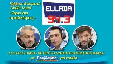 Photo of Πως θα ακούσετε την εκπομπή «Ωρα για Προβλέψεις» στον «Ellada FM 94,3»!